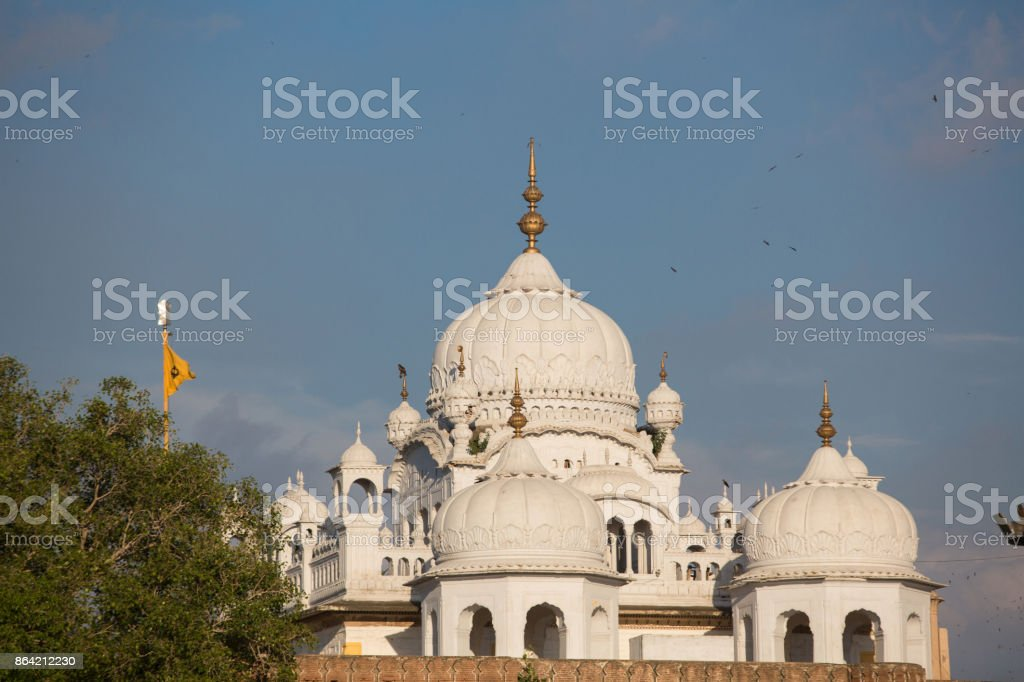 Gurdwara Dehra Sahib Sri Guru Arjan Dev royalty-free stock photo