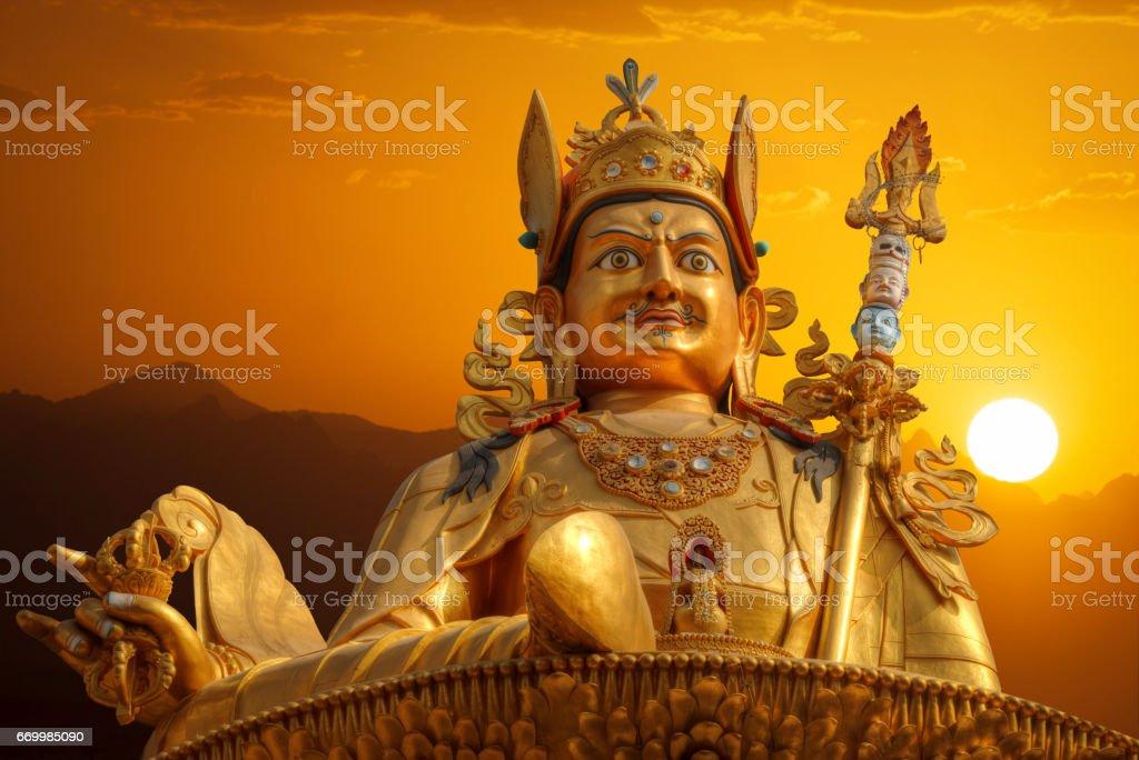 Guru Rinpoche stock photo
