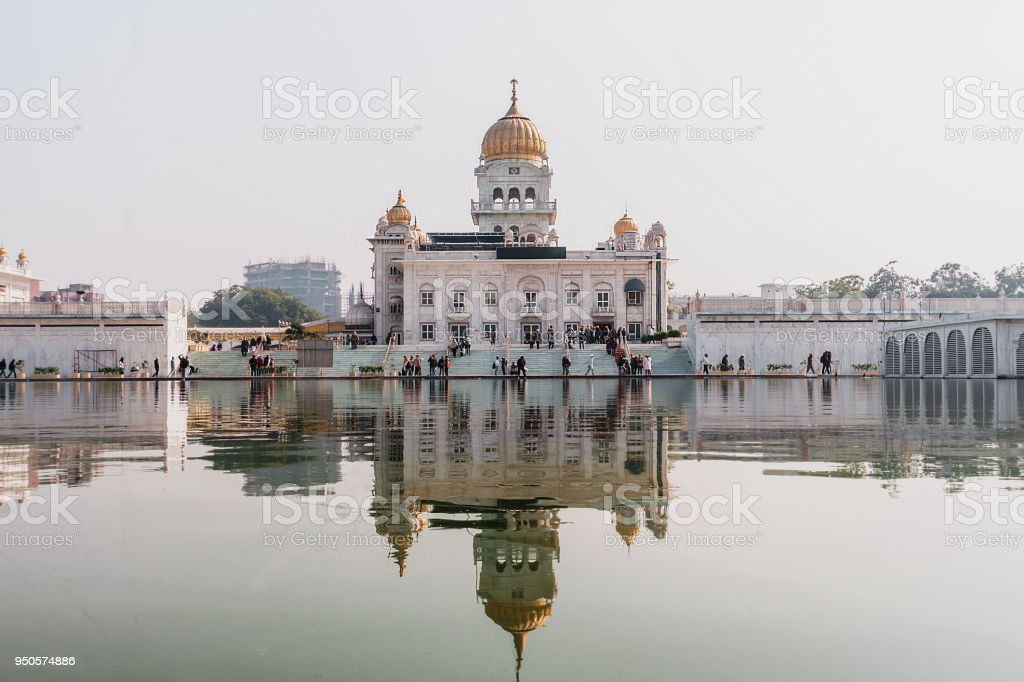 Gurudwara Bangla Sahib stock photo