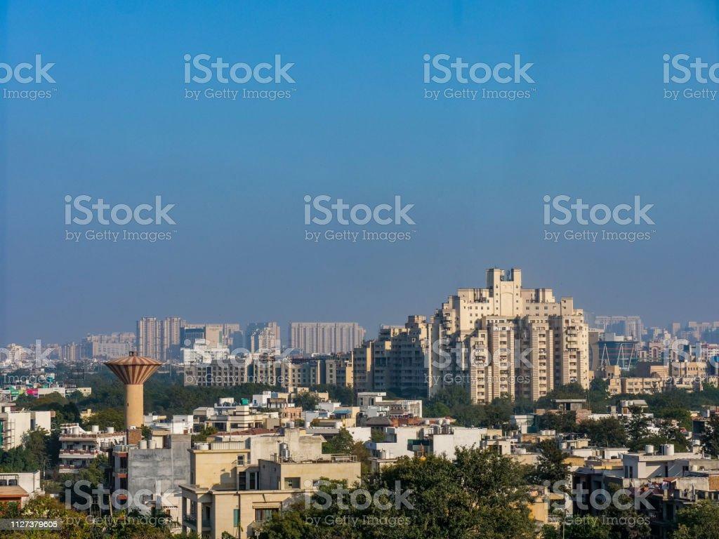 Gurugram City stock photo