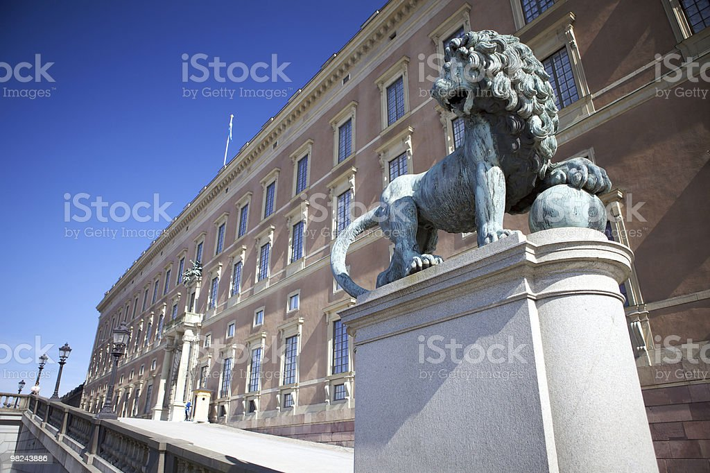 Gustav Monument royalty-free stock photo