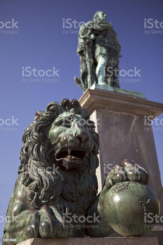 Gustav Monument royalty-free stock photo