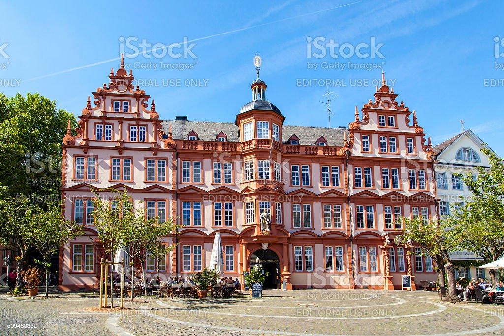 Gutenberg Museum in Mainz, Germany stock photo