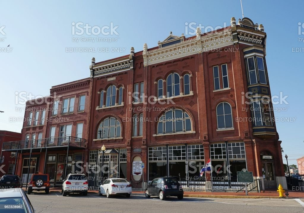 Guthrie Historic District stock photo