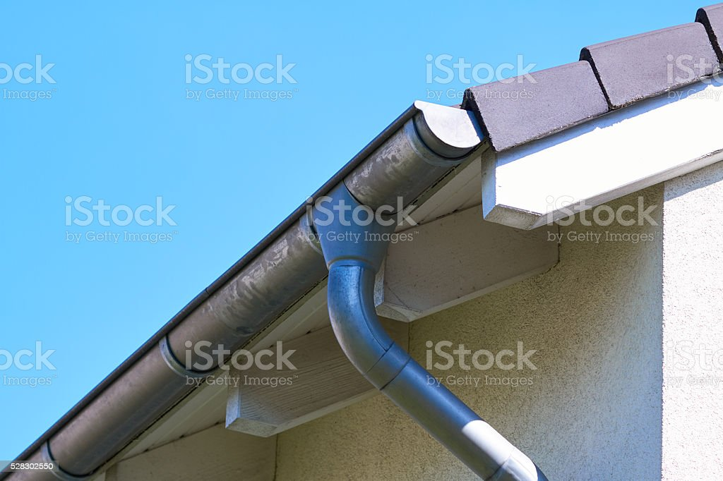 gutter stock photo