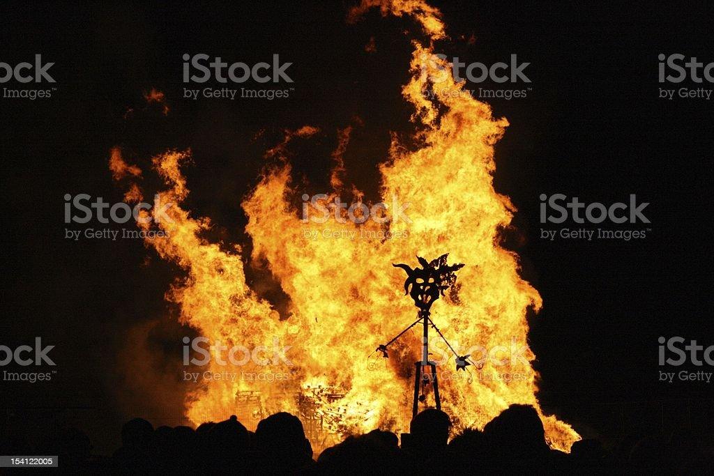 Guy Fawkes celebration stock photo