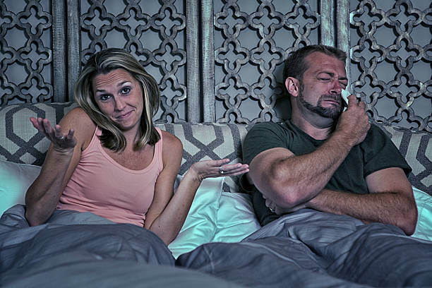 Guy not happy with his bedroom performance Guy not happy with his bedroom performance erectile dysfunction stock pictures, royalty-free photos & images