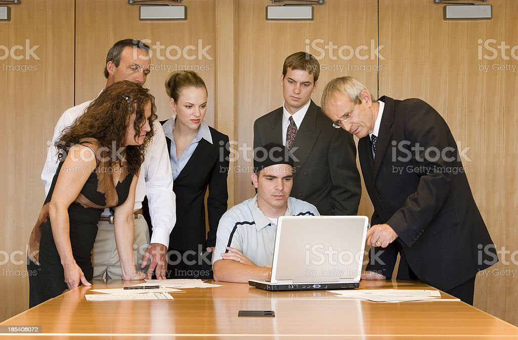 IT Guy royalty-free stock photo