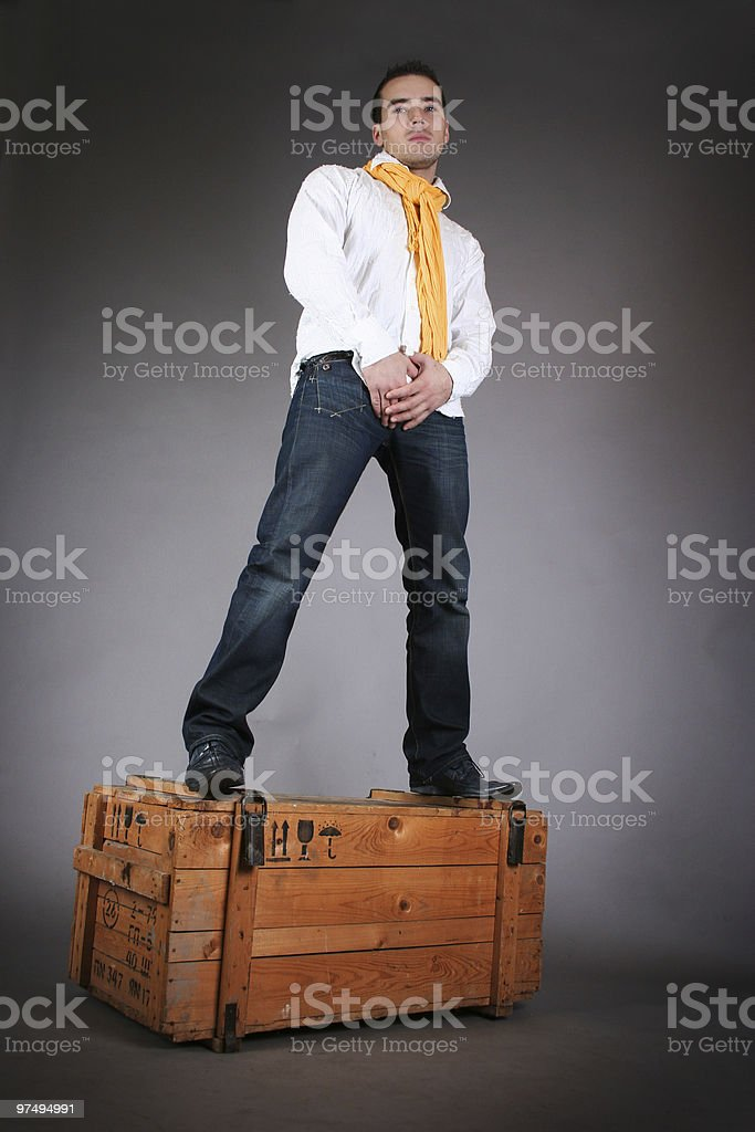 guy royalty-free stock photo