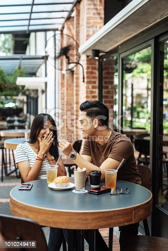 Multi ethnic couple in Malaysia