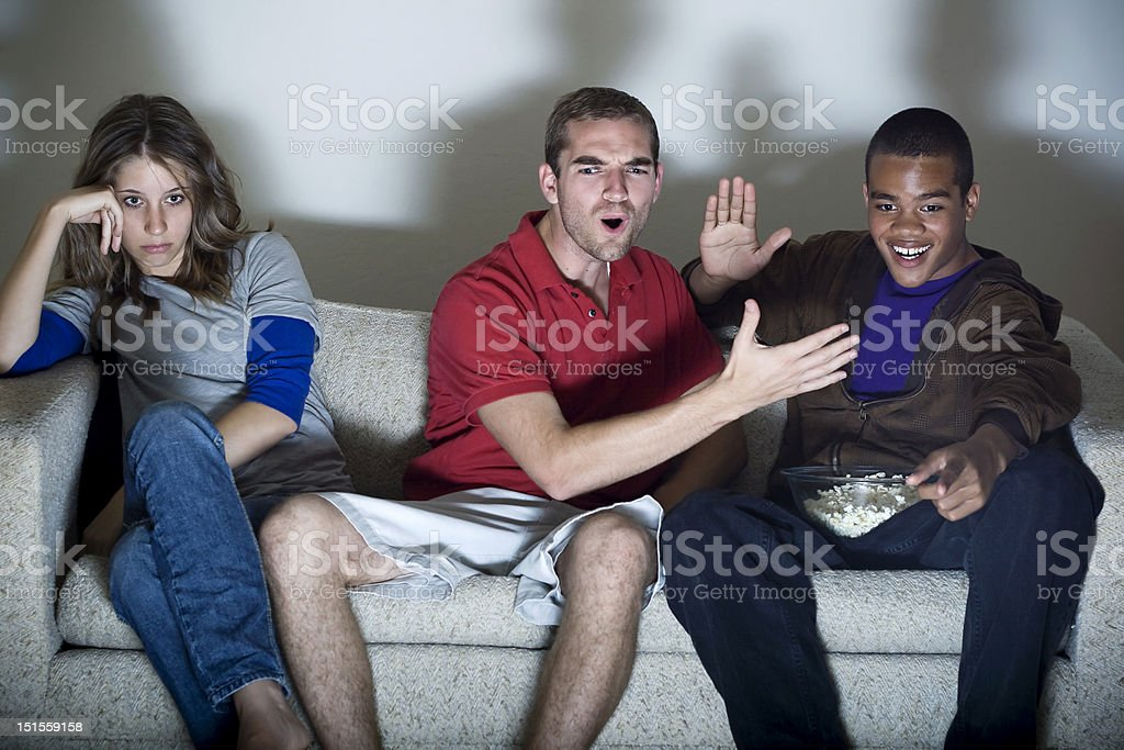 Guy Time royalty-free stock photo