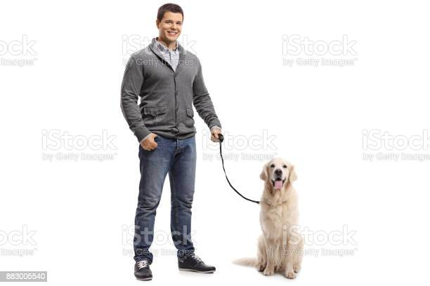 Guy with a labrador retriever dog picture id883005540?b=1&k=6&m=883005540&s=612x612&h=onywfafylp4y gzedcbs6dqqn hri3tb7djle0j 1mc=