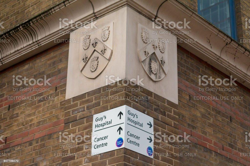 Guy's Hospital Cancer Centre in Southwark, London stock photo