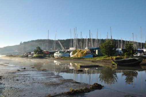 Gweek boat yard.