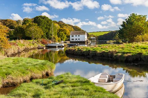 Gweek Cornwall England UK
