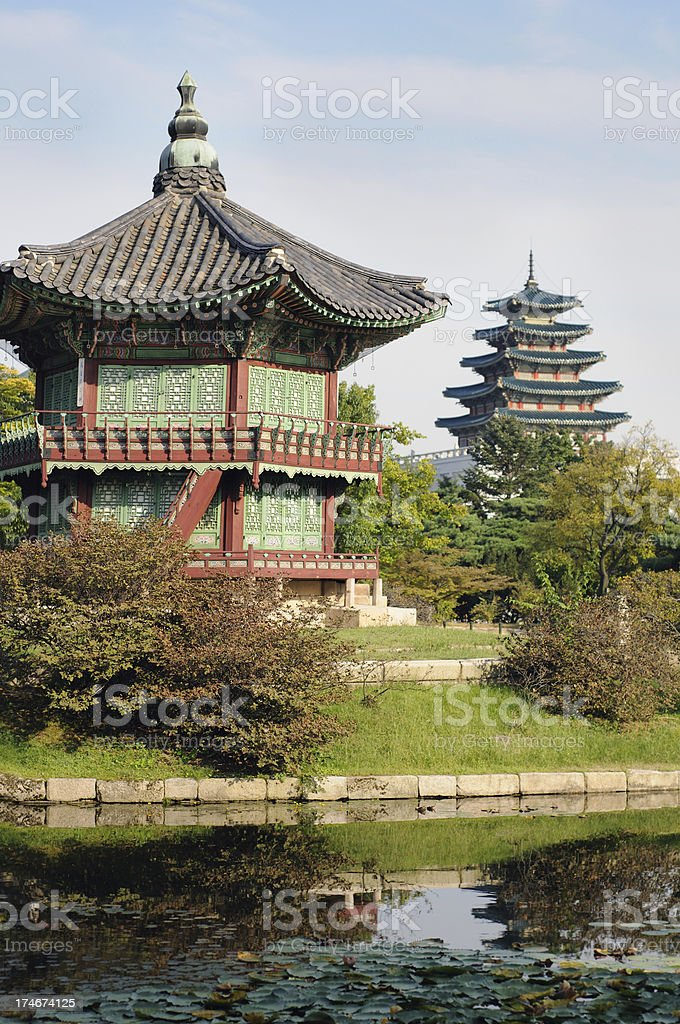 Gyeongbok Palace royalty-free stock photo