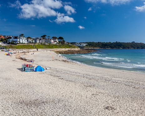Gyllyngvase Beach Falmouth Cornwall