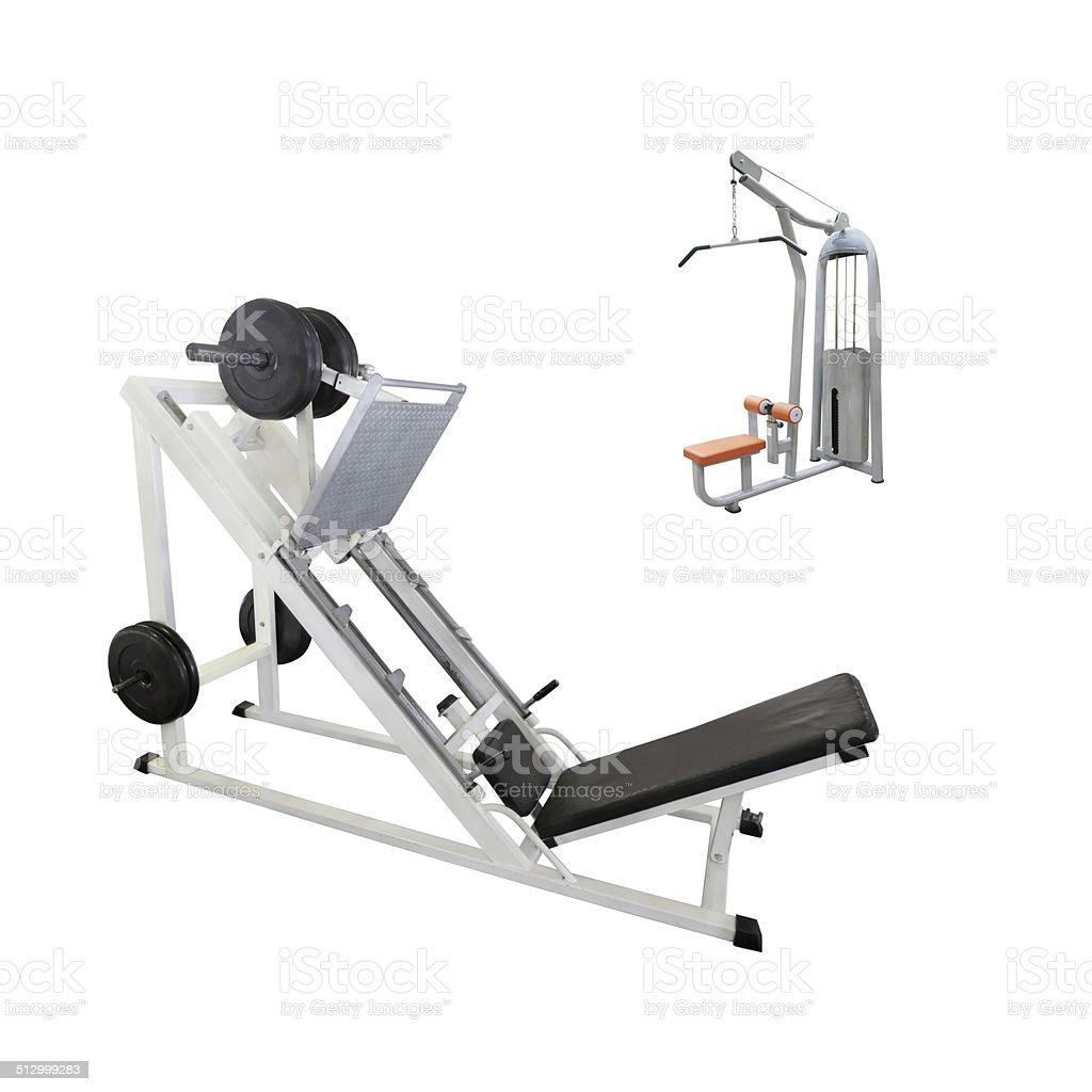 Aparato de gimnasio foto de stock libre de derechos