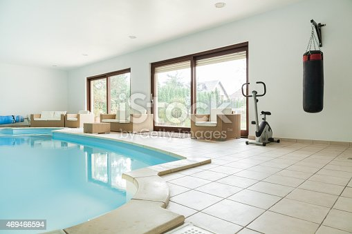 istock Gym at home 469466594