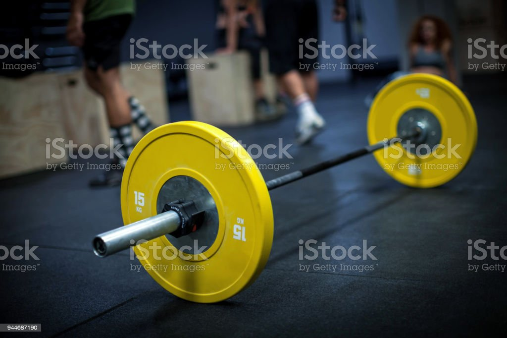 Gym Background Barbell Stock Photo - Download Image Now - iStock