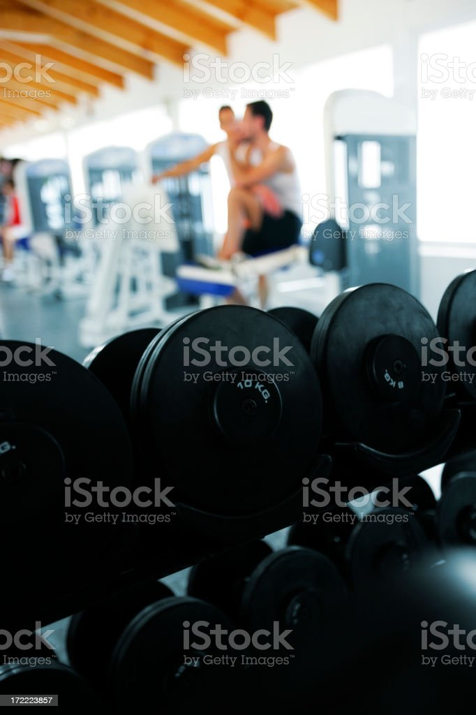 Gym day royalty-free stock photo