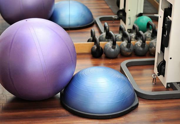 Gym Equipment stock photo