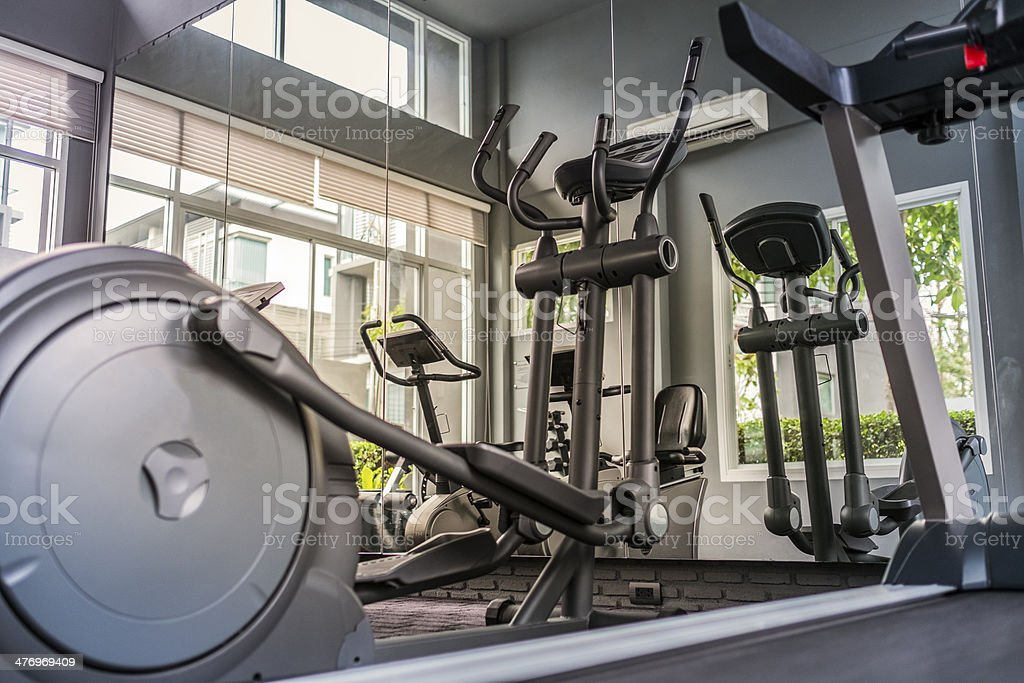 Gym Equipment stock photo