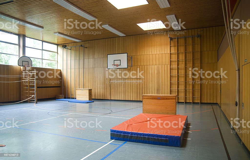 gym hall royalty-free stock photo