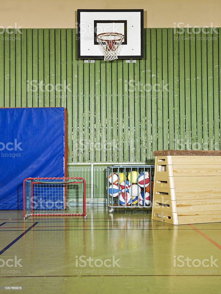Gym interior royalty-free stock photo
