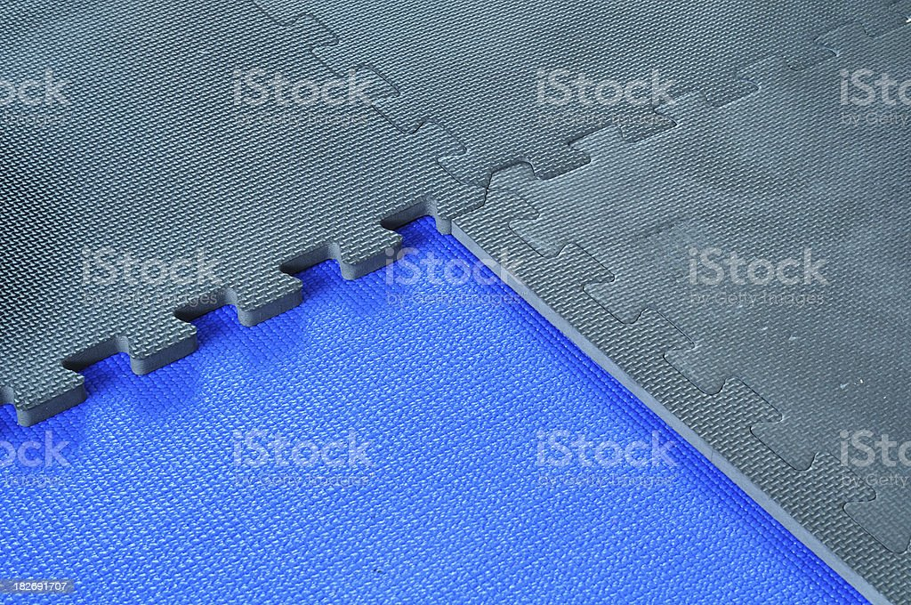Gym Mats stock photo