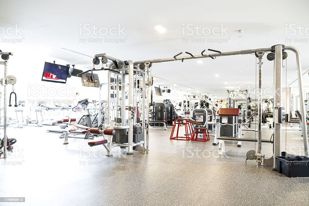 Gym royalty-free stock photo