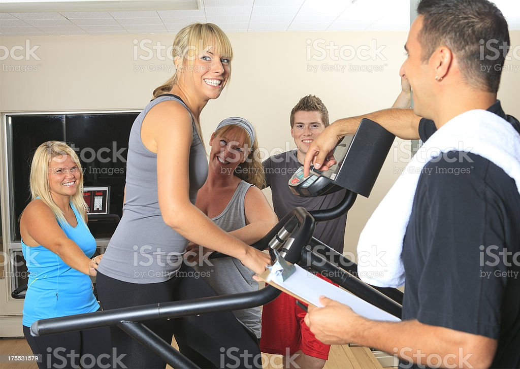 Gym Place - Funny Motivation royalty-free stock photo