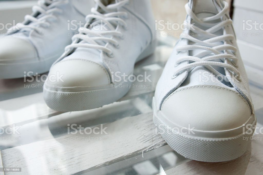 gym shoes royalty-free stock photo