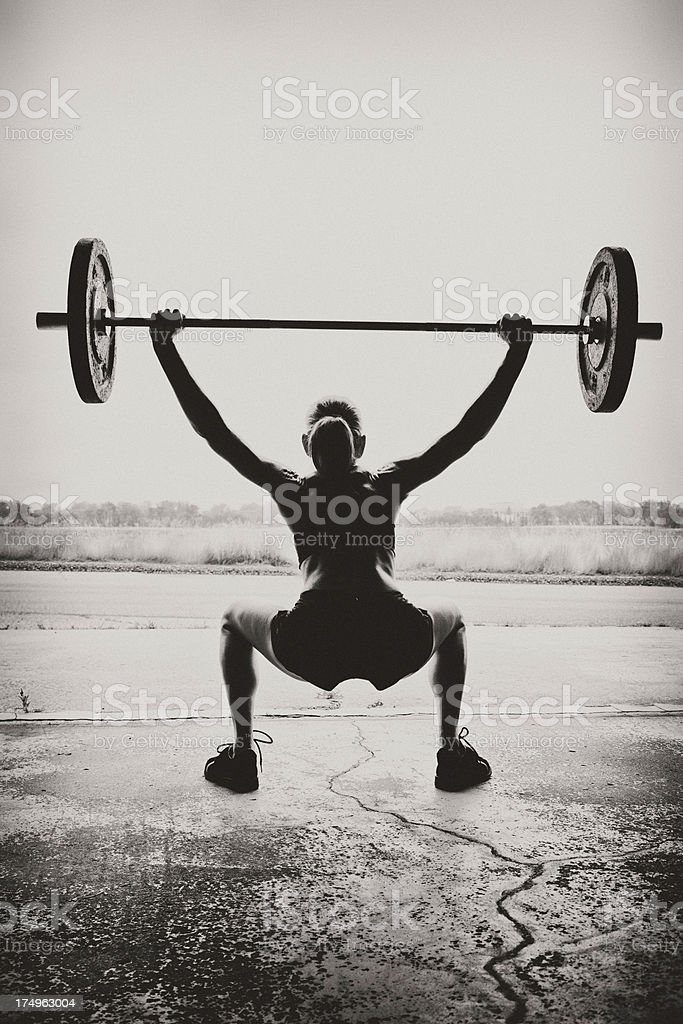 gym Woman royalty-free stock photo