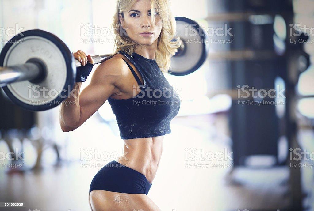 Séance de Gym. - Photo