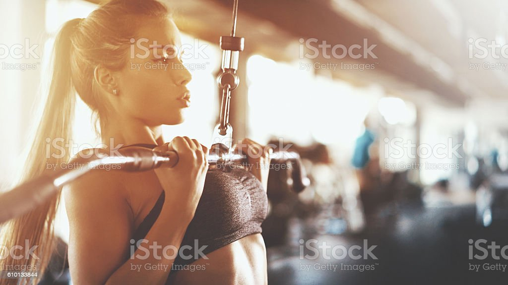 Séance de Gym. - Photo