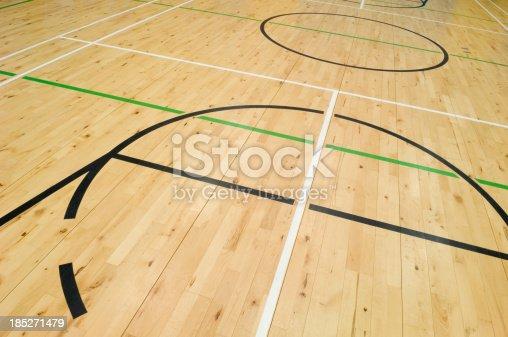 518943593istockphoto Gymnasium floor 185271479