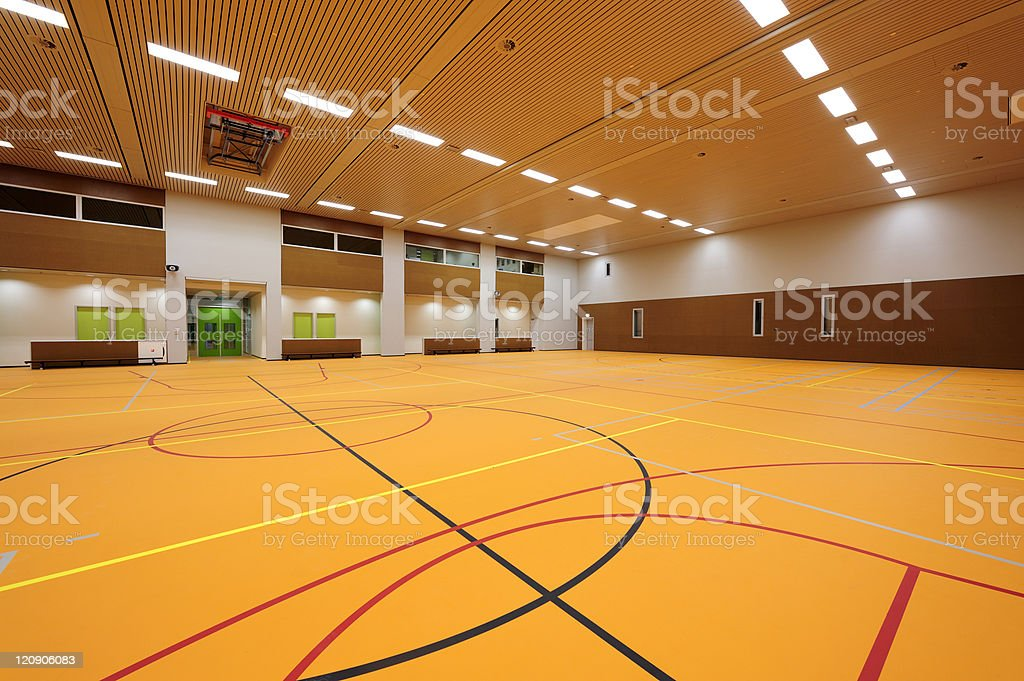 Gymnasium royalty-free stock photo