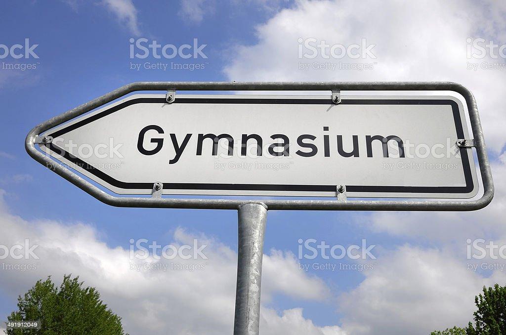 Gymnasium1 stock photo