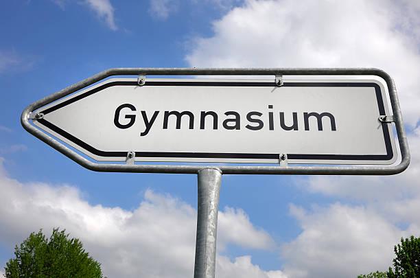gymnasium1 - esame maturità foto e immagini stock