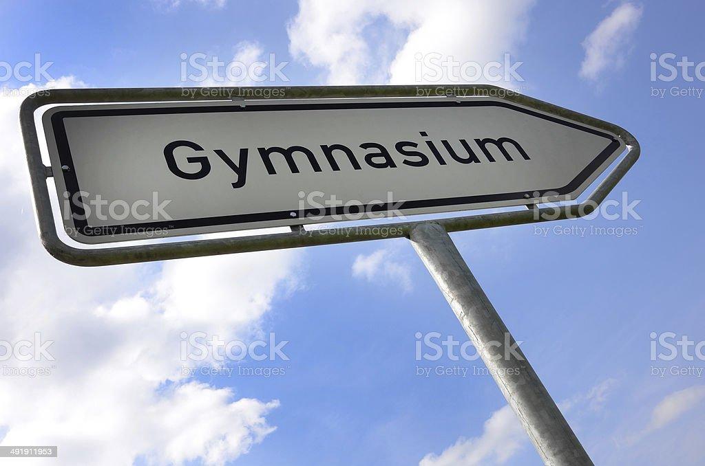 Gymnasium2 stock photo