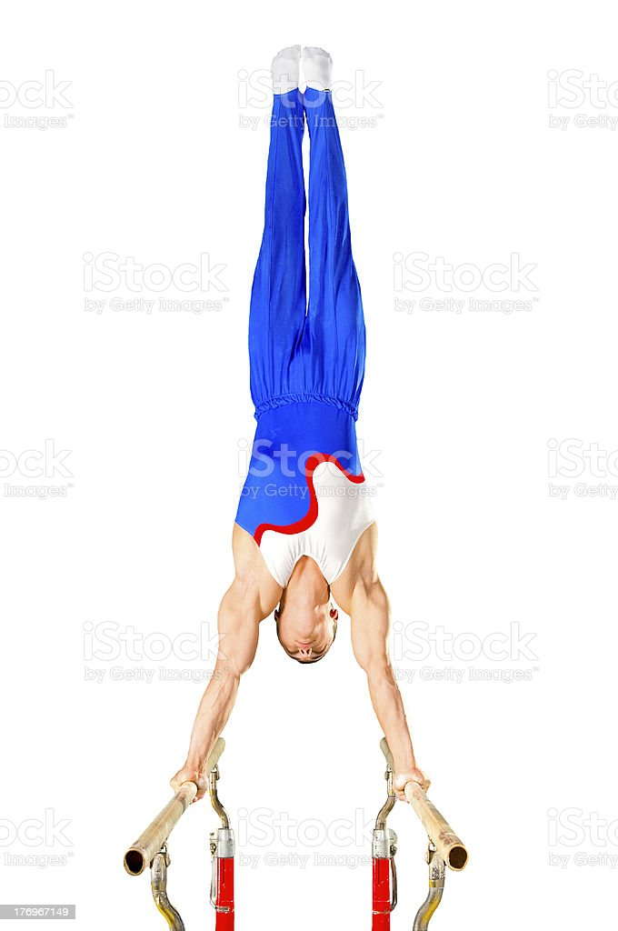 gymnast royalty-free stock photo