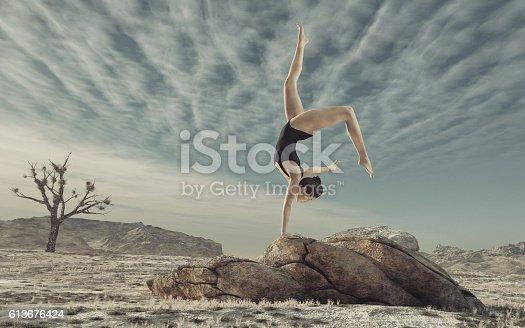 istock Gymnast 613676424