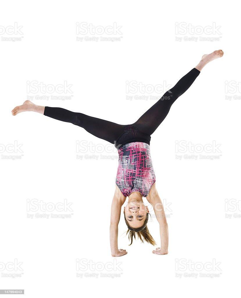 Gymnastic Girl stock photo