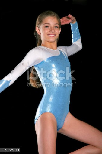 Gymnastics Girl Pose Stock Photo Amp More Pictures Of Adult