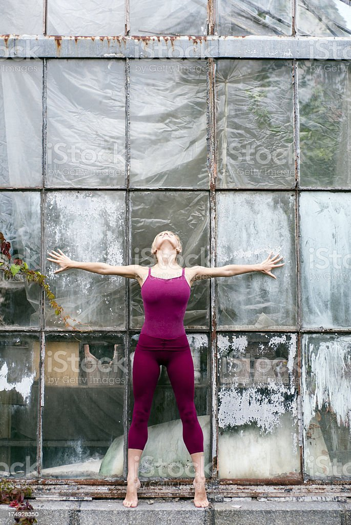 Gymnastics royalty-free stock photo