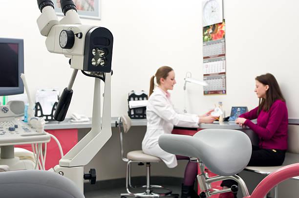 gynecologal equipment stock photo