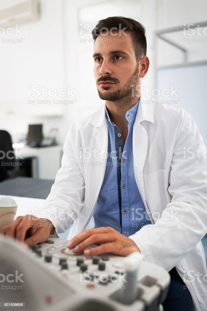 Gynecologist clinic examination foto stock royalty-free