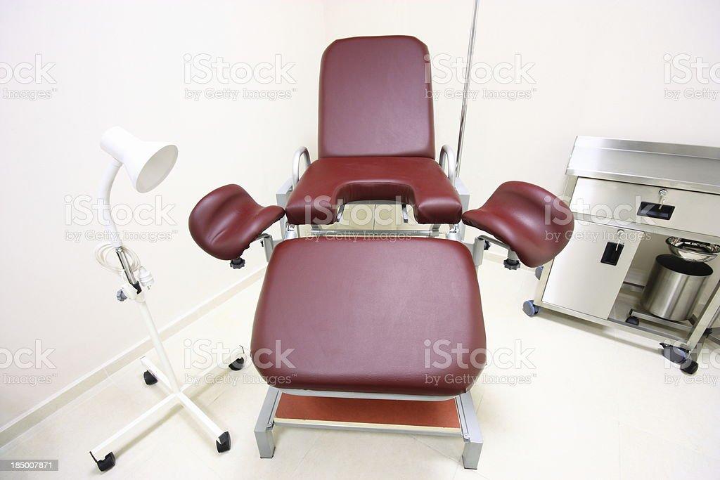Gynecologist practice royalty-free stock photo