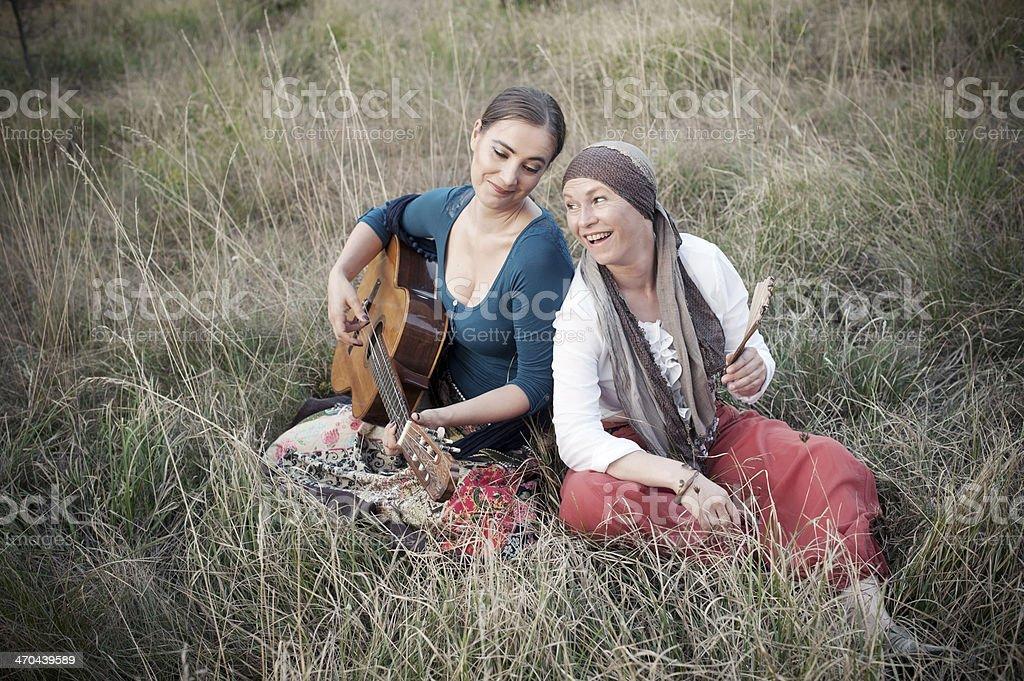 Gypsies royalty-free stock photo